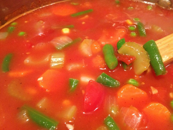 How to Make an Easy, Hearty Tomato Vegetable Soup | Recipe