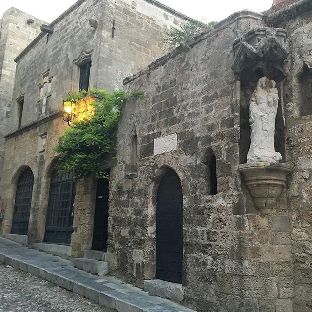 The Street of the Knights in old town Rhodes