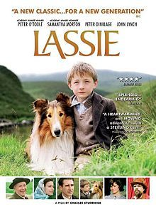 Lassie is a 2005 British-American-French-Irish adventure comedy-drama film based on Eric Knight's 1940 novel Lassie Come-Home about the profound bond between Joe Carraclough and his rough collie, Lassie. The picture was directed, written, and co-produced by Charles Sturridge and is a production of Samuel Goldwyn Films. The film stars Jonathan Mason and was distributed by Roadside Attractions and released in the UK on 16 December 2005.