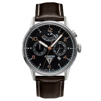 Junkers 6960-5 G38 Mens Automatic Watch 4041338696059