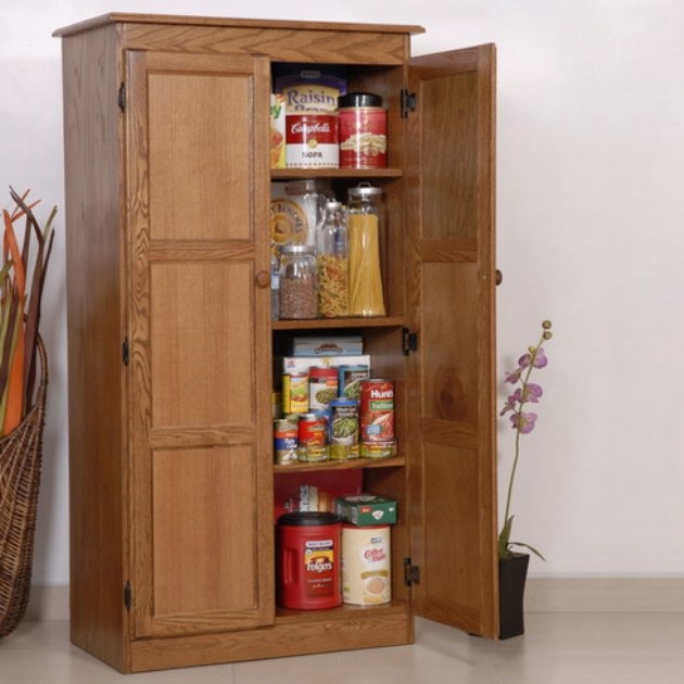 Multi Purpose Storage Cabinet Pantry Oak I Can Build Make This Pinterest Storage