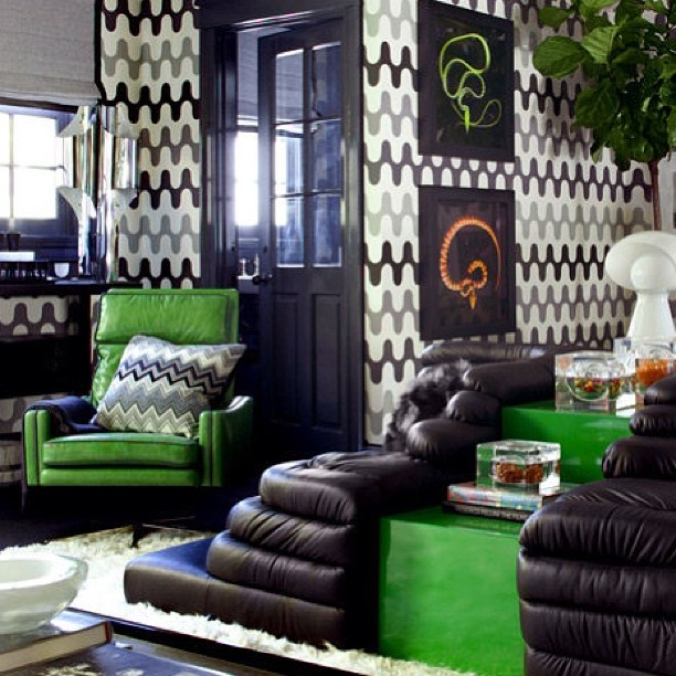 Black White Grey And Green Boys Bedroom B O Y S