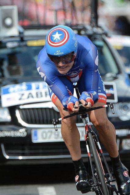 David Zabriskie - Tour de France, June 30, 2012, prologue by Team Garmin-Sharp-Barracuda, via Flickr