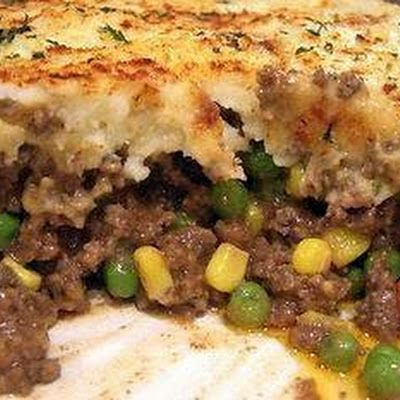 Shepherd's Pie - Rachel Ray 30 Minutes @keyingredient #cheese #vegetables #pie #casserole