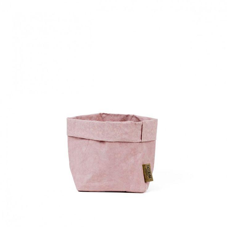 Paper bag medium quarzo rosa 1840
