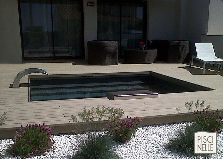 483 best p o o l fountain images on pinterest for Liner de piscine qui plisse