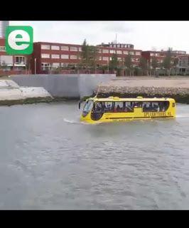 (VIDEO) Bus Ajaib Ini Cocok Dioperasikan di Indonesia - BUKA INDO