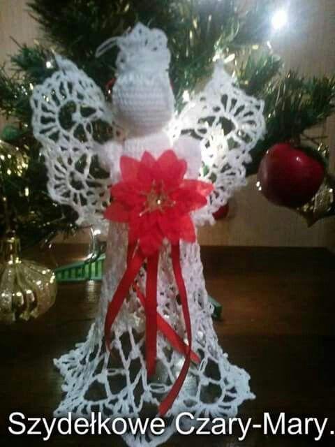 Boze Narodzenie # aniolek # swieta #crochet