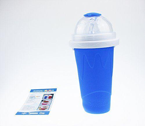 Squeeze Cup Slushy Maker - Magic Becher Slushy Eis zum selbst machen - Blau