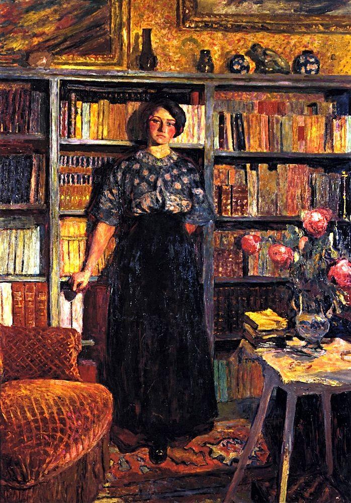 """""""Mademoiselle Jacqueline Fontaine"""": Edouard Vuillard - 1911-1912"""