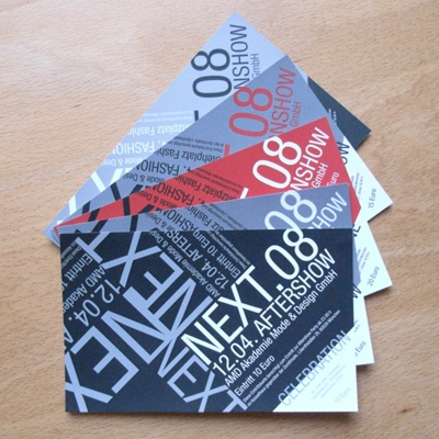 Ticket designs that have excellent typography.