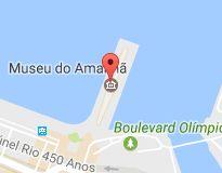 Mapa de Museu do Amanhã