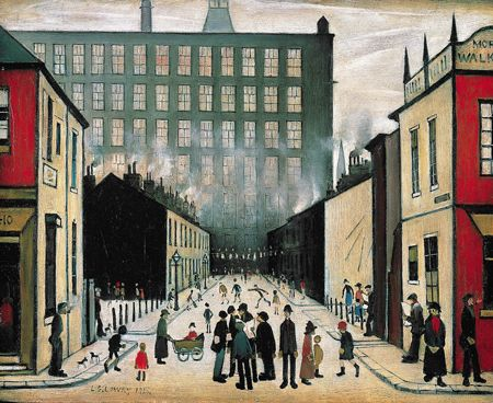 perspective in lowry art - Google Search