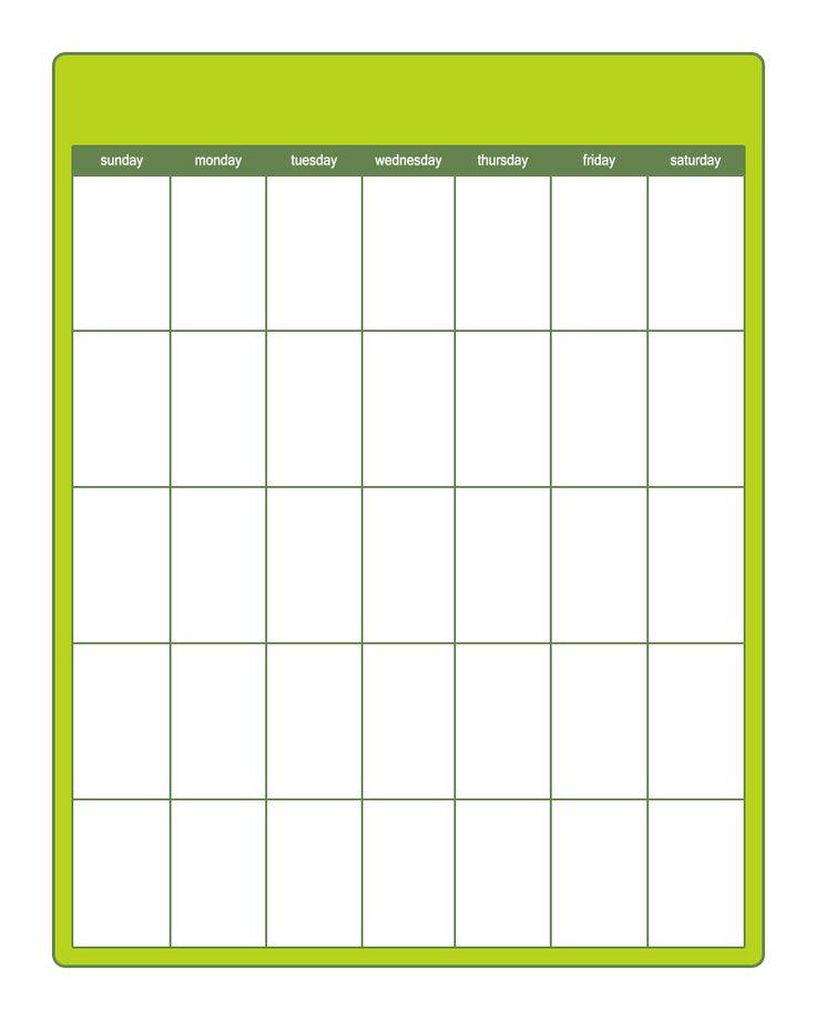 17 Best ideas about Printable Calendar Template – Blank Calendar Template