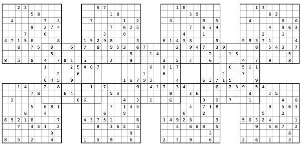 Sudoku Shogun :00018