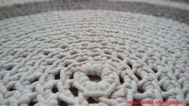 Dywan szydełkowy DIY / Crochet carpet DIY