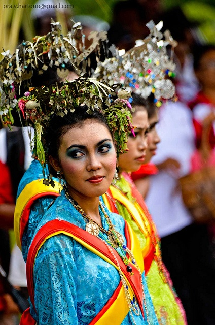 Traditional Outfit of Halmahera, Jailolo, West Halmahera, Maluku, Indonesia