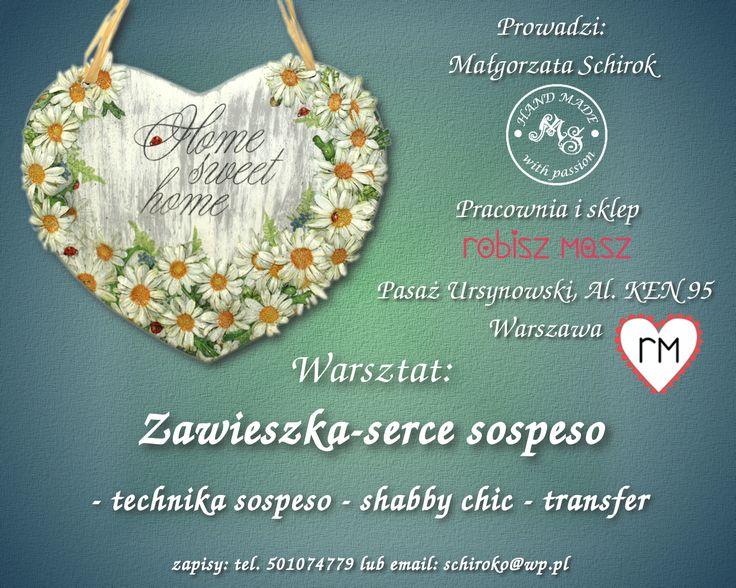 Warsztat: Zawieszka-serce sospeso.