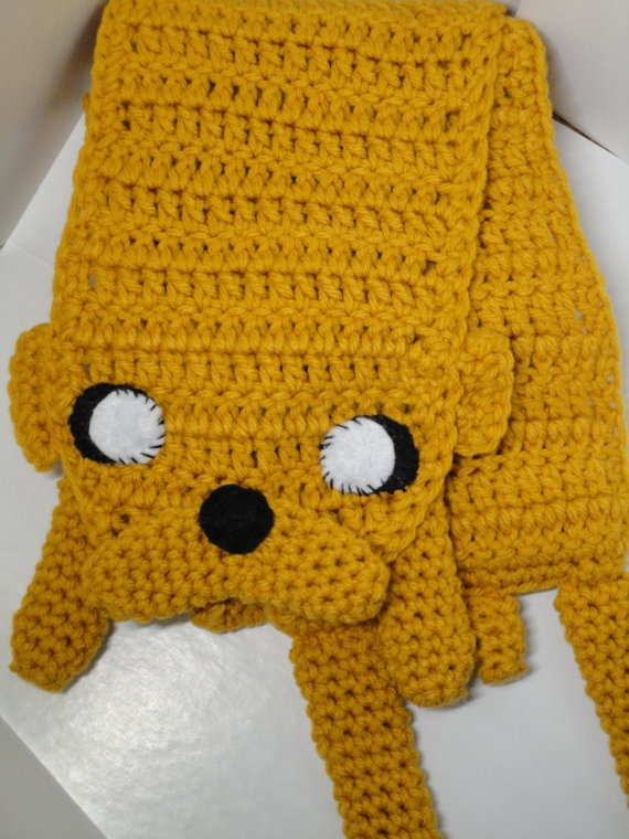 Crochet Jake From Adventure Time