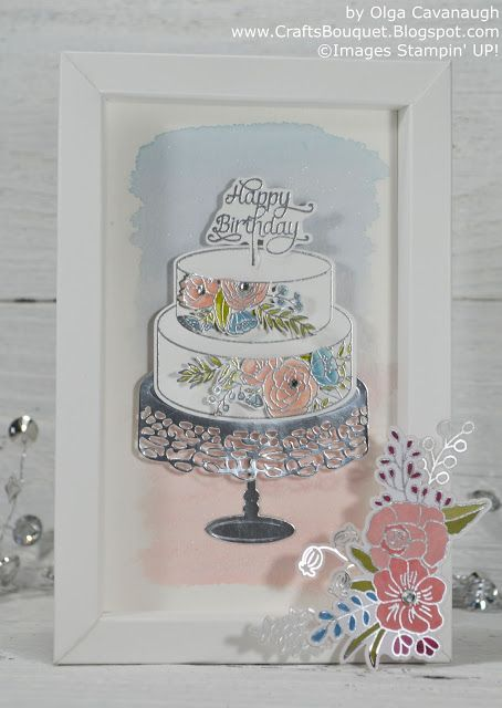 Crafts Bouquet Sweet Soiree Shadow Box Birthday Card And Gift Box