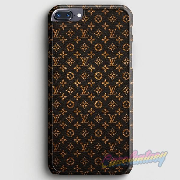 Monogram Wallpaper LV iPhone 7 Plus Case   casefantasy