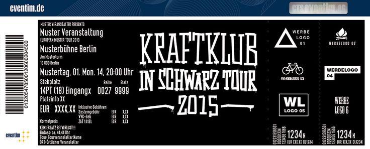 Tickets für Kraftklub in SAARBRÜCKEN am 21.02.15 - E-Werk Saarbrücken