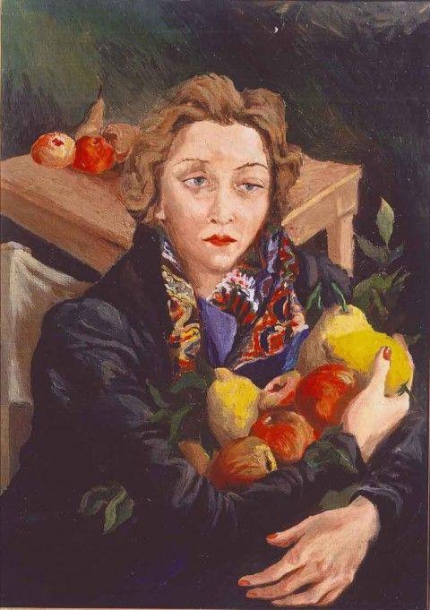 Renato Guttuso - Ritratto di Mimise - 1937 - coll. Iannaccone, Milano