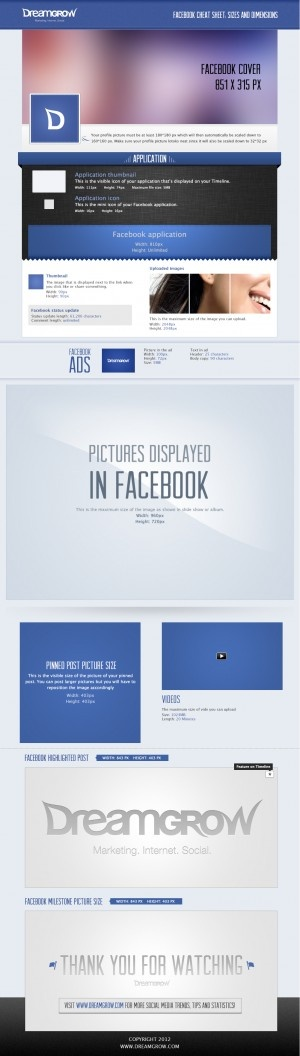 Facebook page image dimensions. Handy.