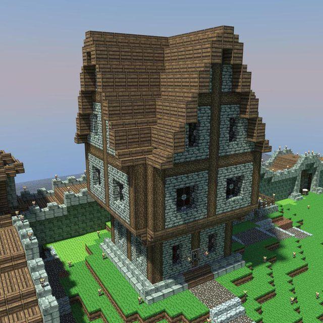 64 best Minecraft building inspiration images on Pinterest