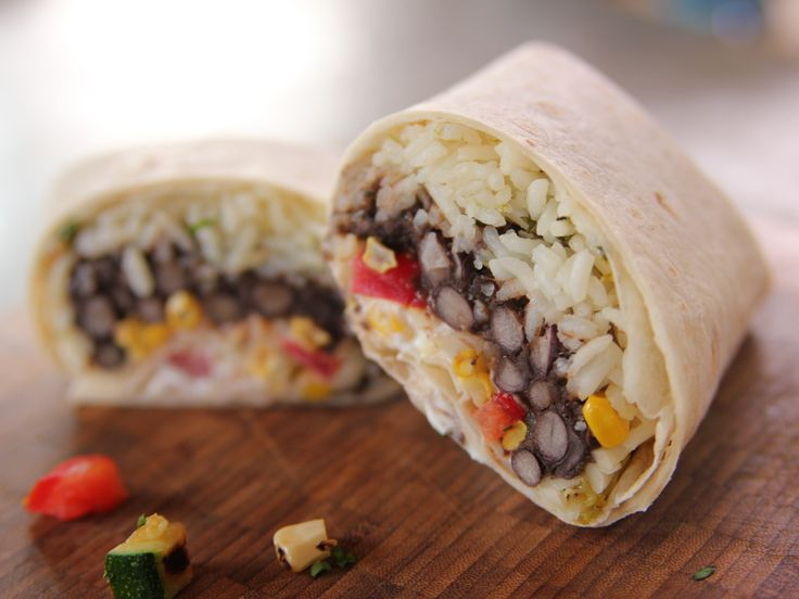 Grilled Veggie Burritos recipe from Ree Drummond via Food Network See tex mex recipes for rice recipe.