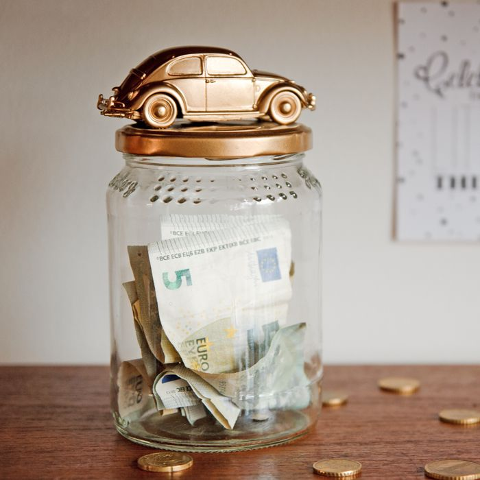 Collect the funds for your driver's permit or the car of your dreams in this savings jar. Follow this step by step tutorial to create your own.