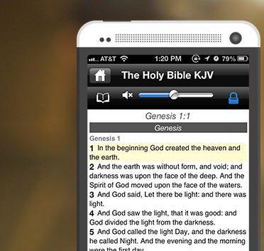 King James Bible App, Audio Bible Online Daily Bible Verse KJV