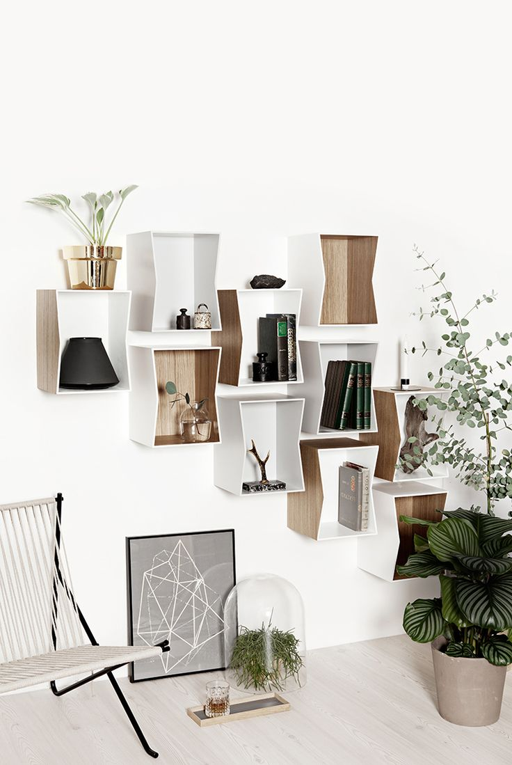 T.D.C | Flip bookshelf by MUNK Collective