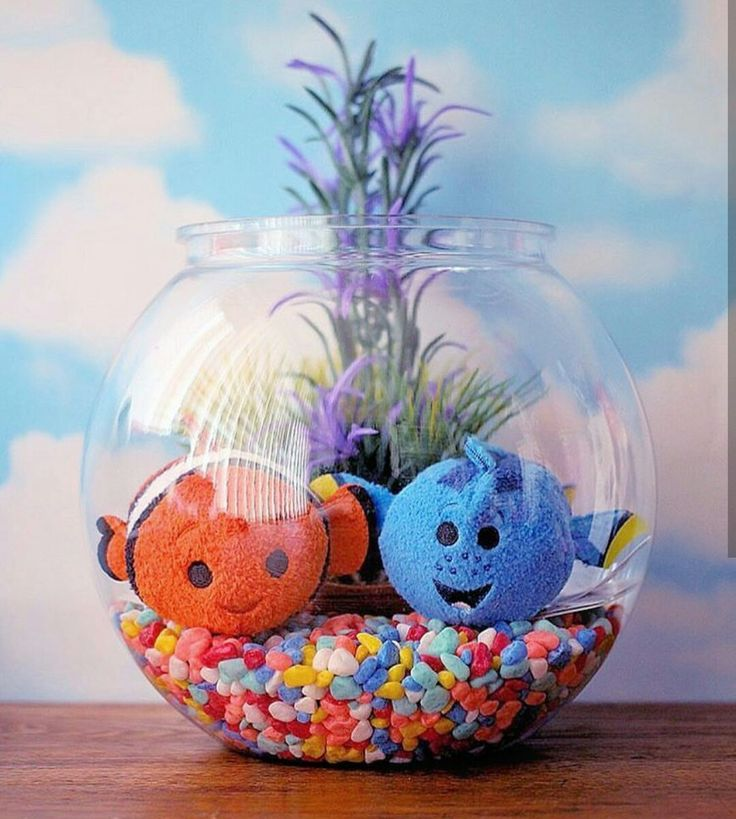 So cute dory&nemo tsums