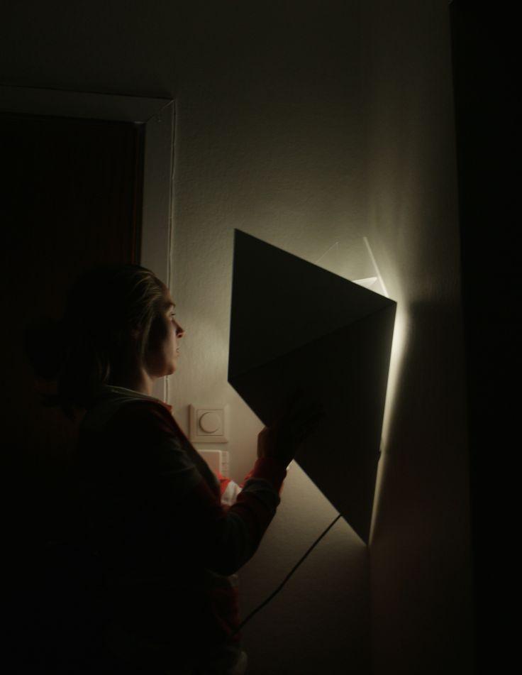 Corner Lamp/Closet  by Caroline Langfeldt Carlsen 2012