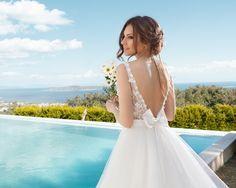 sırtı açık ve dantelli gelinlik modelleri-nişantaşı sırt dekolteli gelinlikler-nova bella gelinlik