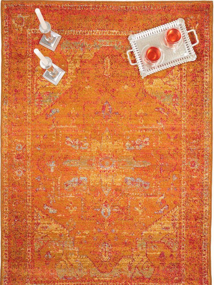 http://www.benuta.de/teppich-liguria-gelb.html Der neue Teppich Liguria von benuta ist in Orange, Grün und zwei pinken Varianten erhältlich.