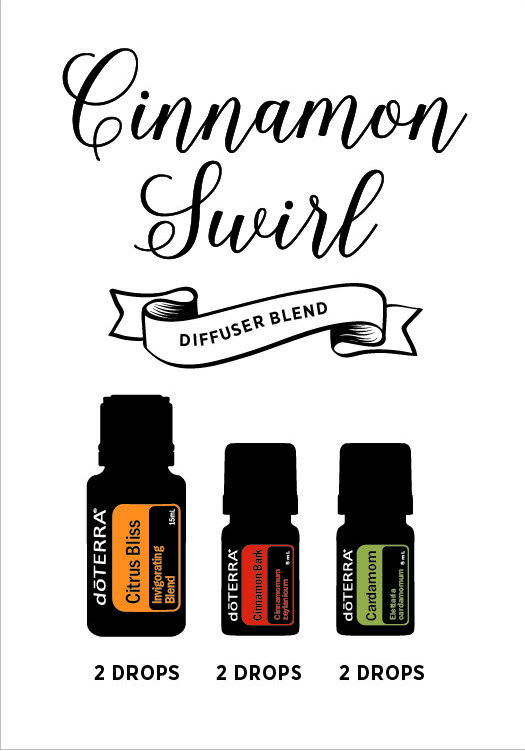 Diffuse to fill your home with the warm scent of freshly baked cinnamon rolls.