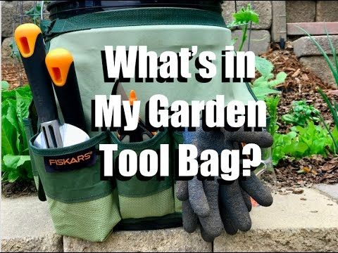 Beginning gardener? Check out @CaliKim29's must have tools and organization tips. Click in for storage ideas like a bucket caddy and tips on the purpose of each hand tool.