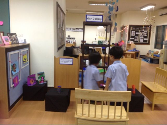 Self Expression: The Gallery | play based inquiry