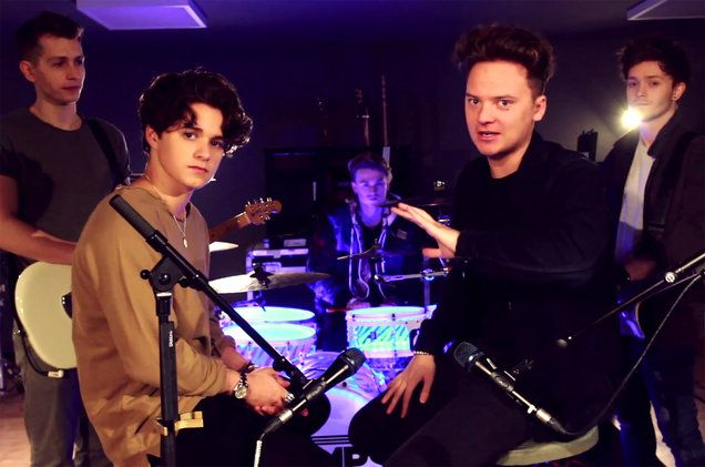 "Watch Conor Maynard and The Vamps remix some of the greatest songs over the music to Ed Sheeran's ""Shape Of You"""