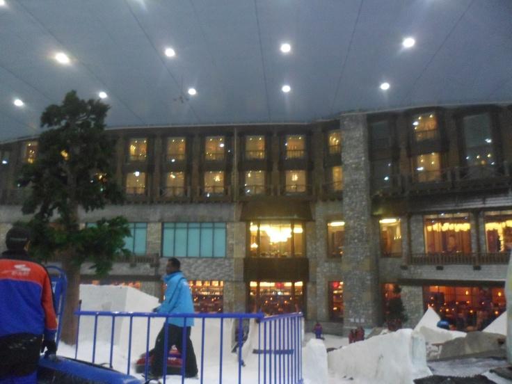 Kempinski hotel vanaf Ski Dubai #NHTV #3MTT