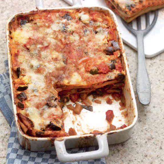 Mediterrane Gemüselasagne mit Parmesan | Weight Watchers