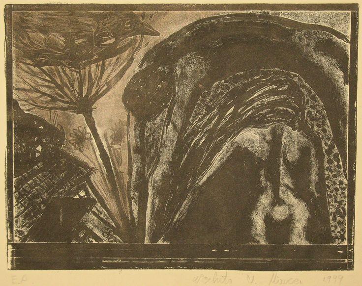 Cuplu.compozitie.gravura metal.1999