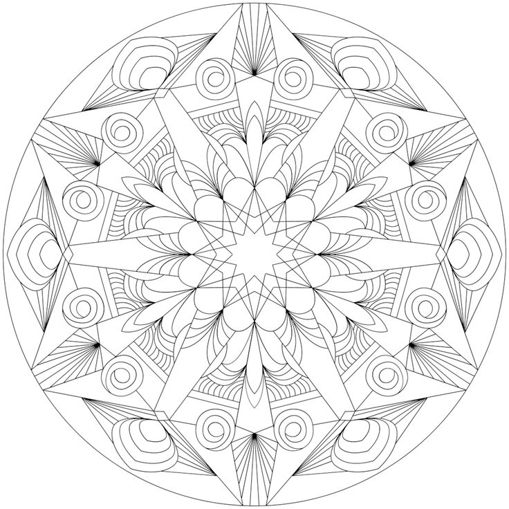Picture of Isle of View coloring page