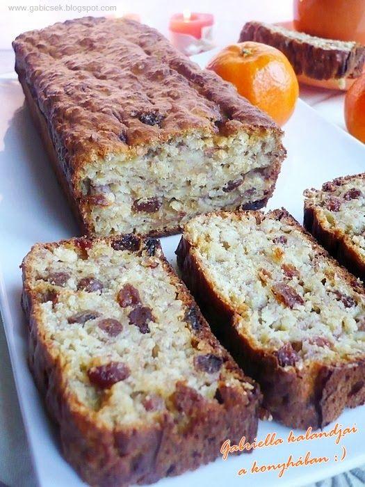 Gabriella kalandjai a konyhában :): Banános-zabpelyhes sütemény