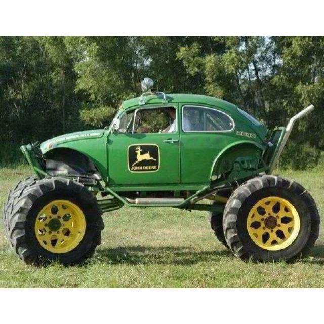 Tractor VW baja bug