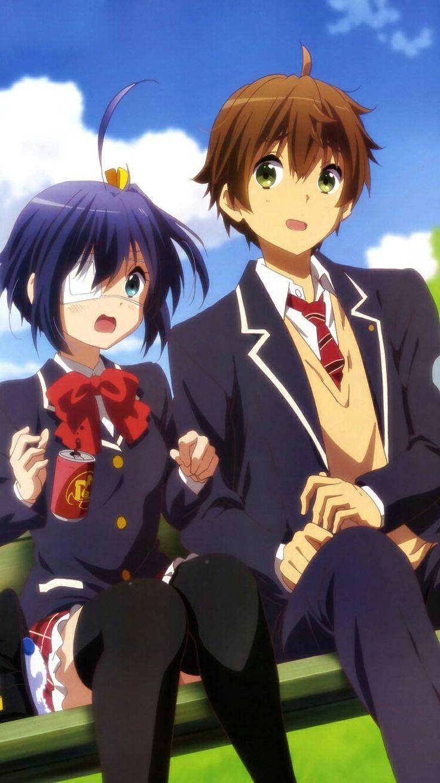 Que hermosa pareja amo el anime