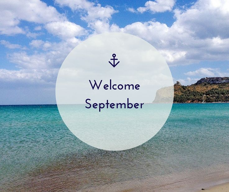 Welcome #september.