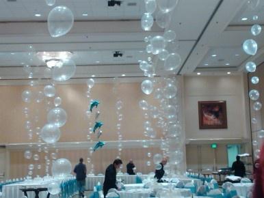 bubble centerpiece